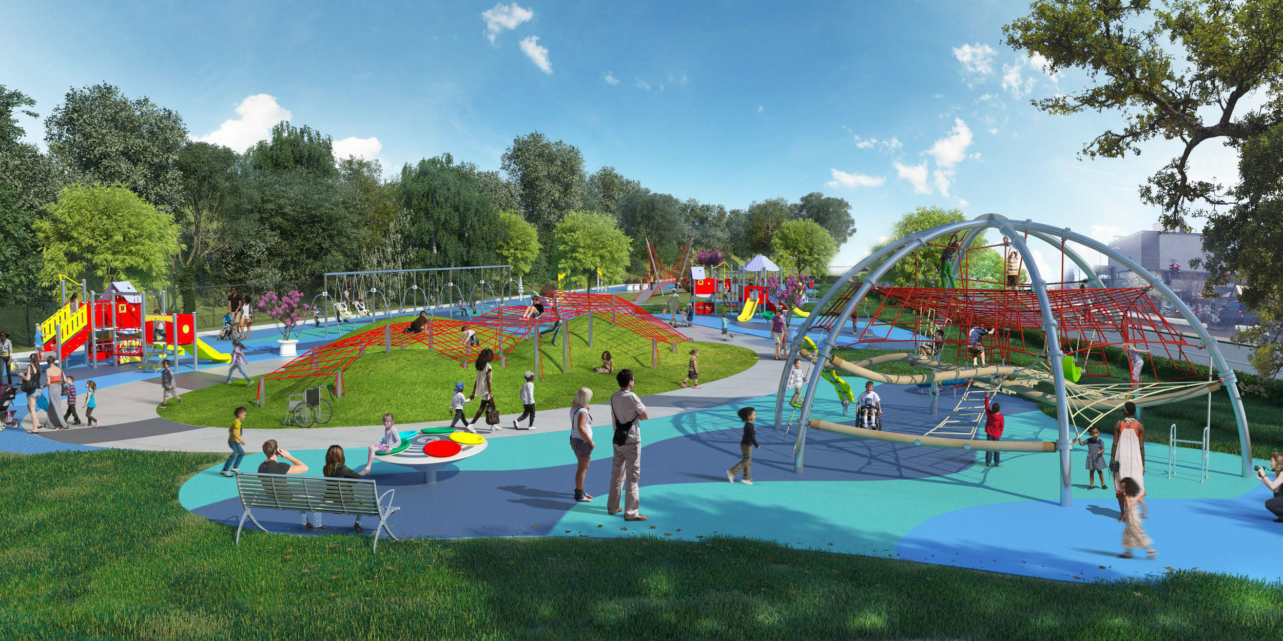 The Tommy Brull Foundation has donated $40,000 to help fund this state of the art adaptive inclusive playground located at Hickey Field in Rockville Centre.  We continue to support this project and hope that it will be completed within the next 1-2 years.
