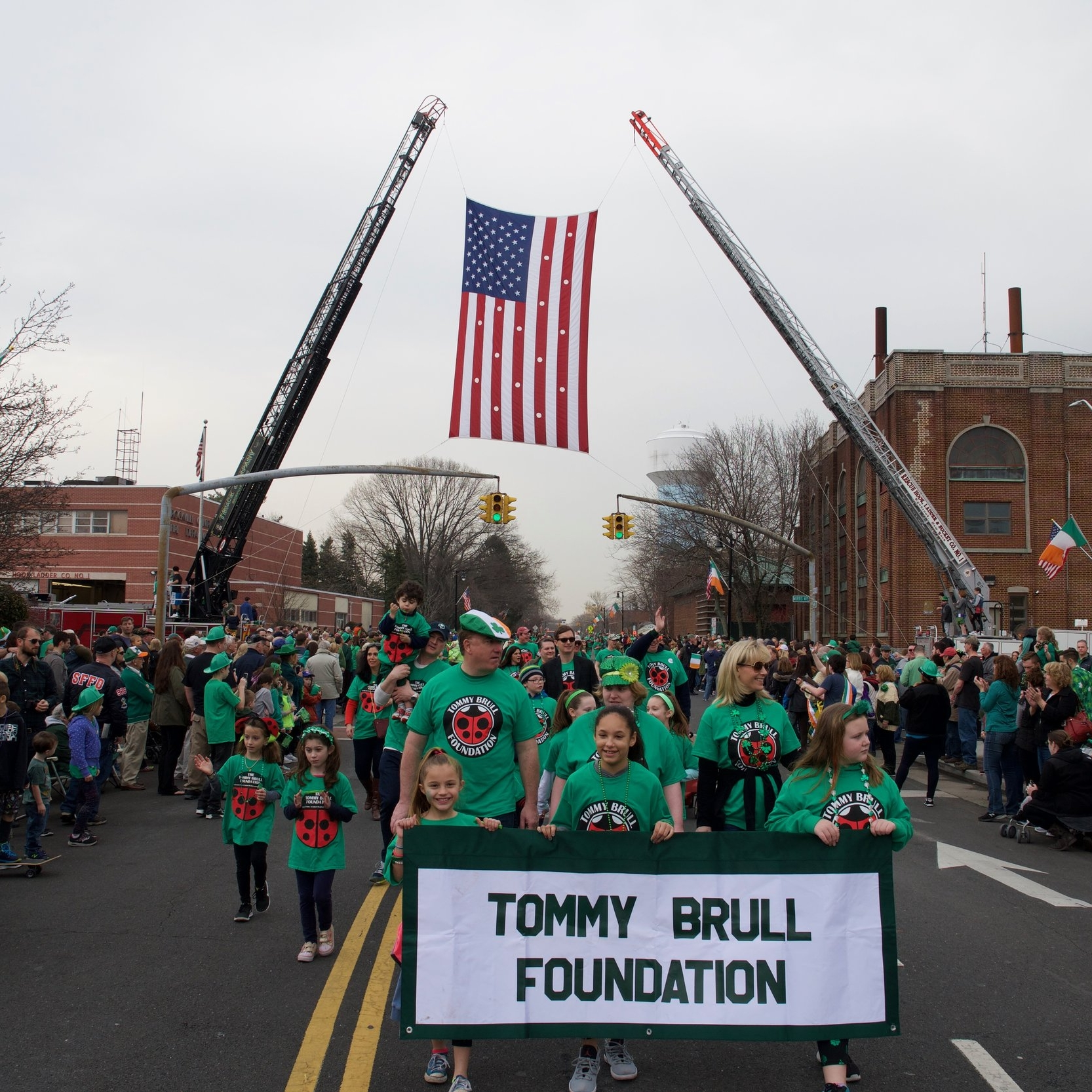 Rockville Centre St Patrick's Parade     In 2016, The Tommy Brull Foundation was honored to be chosen as the Local Charity by the Rockville Centre St. Patrick's Parade. This amazing organization works all year round to organize the 2rd largest parade of its kind in the tri-state area. This organization has taught us so much about fundraising and community as they celebrate their Irish Heritage. Their efforts awarded us $25,000 and an experience that will never be forgotten.