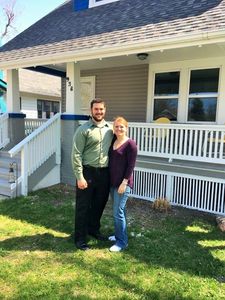 New Homeowners made a home in one of our housing rehab projects.