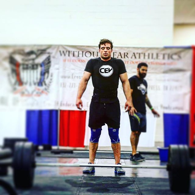 Take a deep breath and then absolutely crush it!  @rubenecoronado has been making huge leaps in his performance and working on his weaknesses over the course of the year.  What are his methods you ask? Hard work, smart training and fire within!  We're proud of you Ruben!  #KeepitUp #EaDoPride #Athlete #GainzTrain