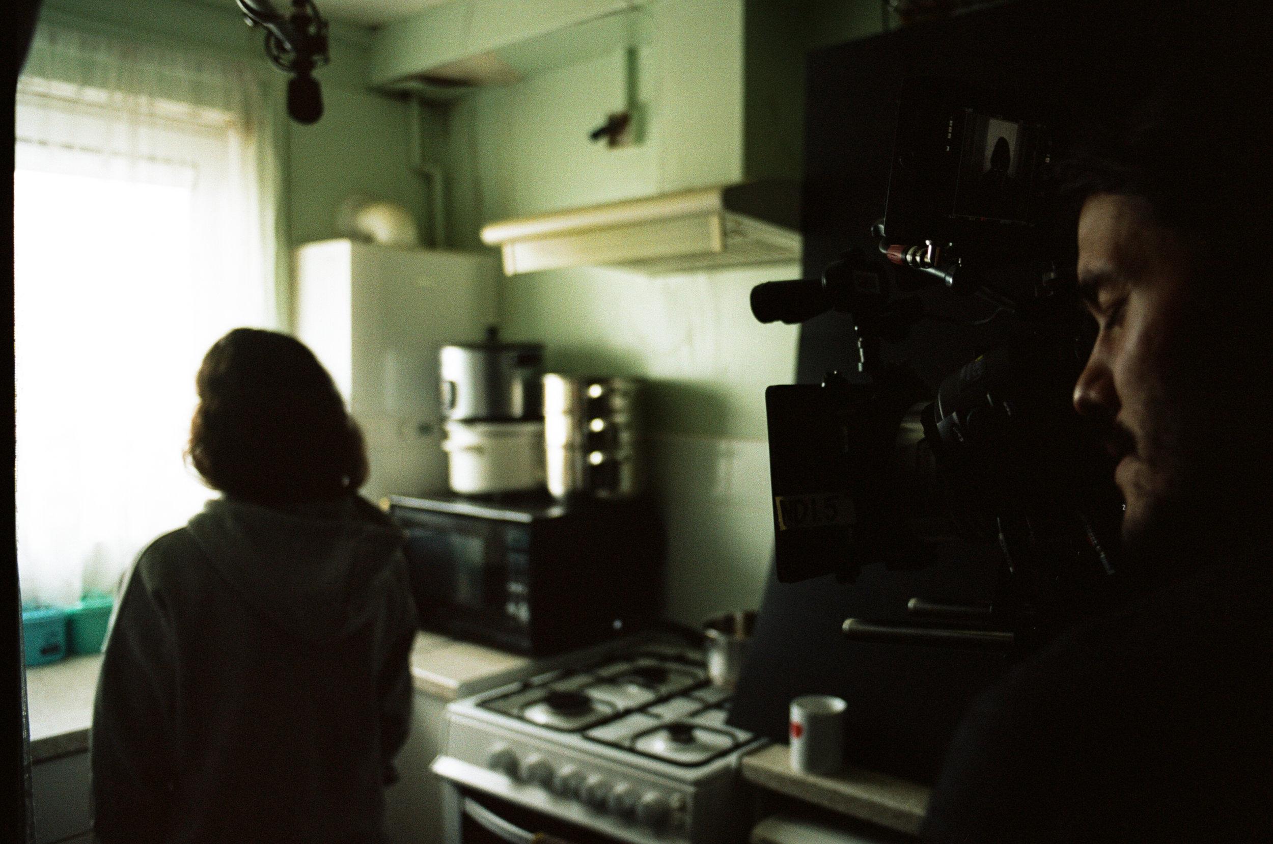 Film Artist working in the medium of celluloid film.