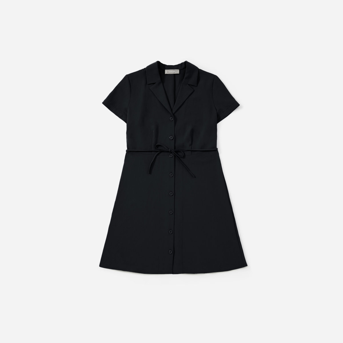 Everlane Japanese GoWeave Notch Shirtdress
