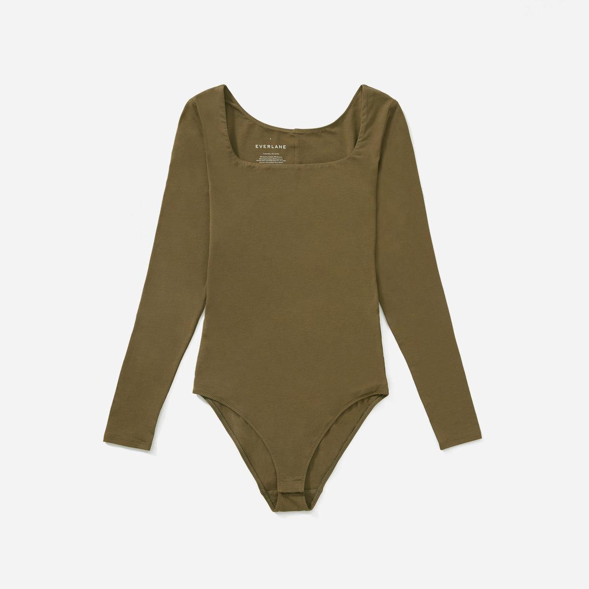 Everlane Square Neck Bodysuit