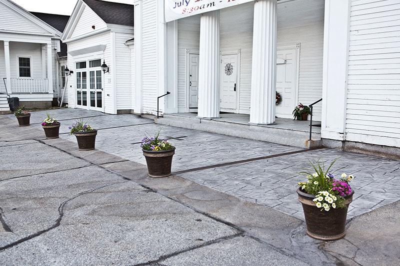 Merrimack, New Hampshire Commercial Concrete Contractor