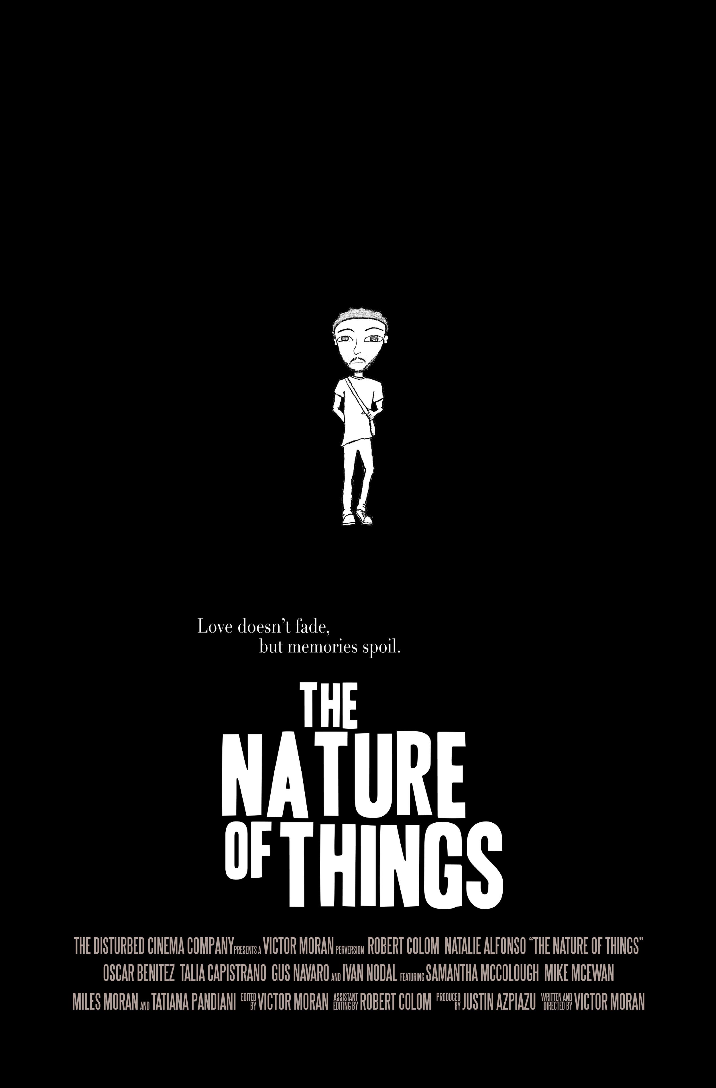 "Character Poster, ""Deedrick""   The Nature of Things   (2014) Dir. Victor Moran"