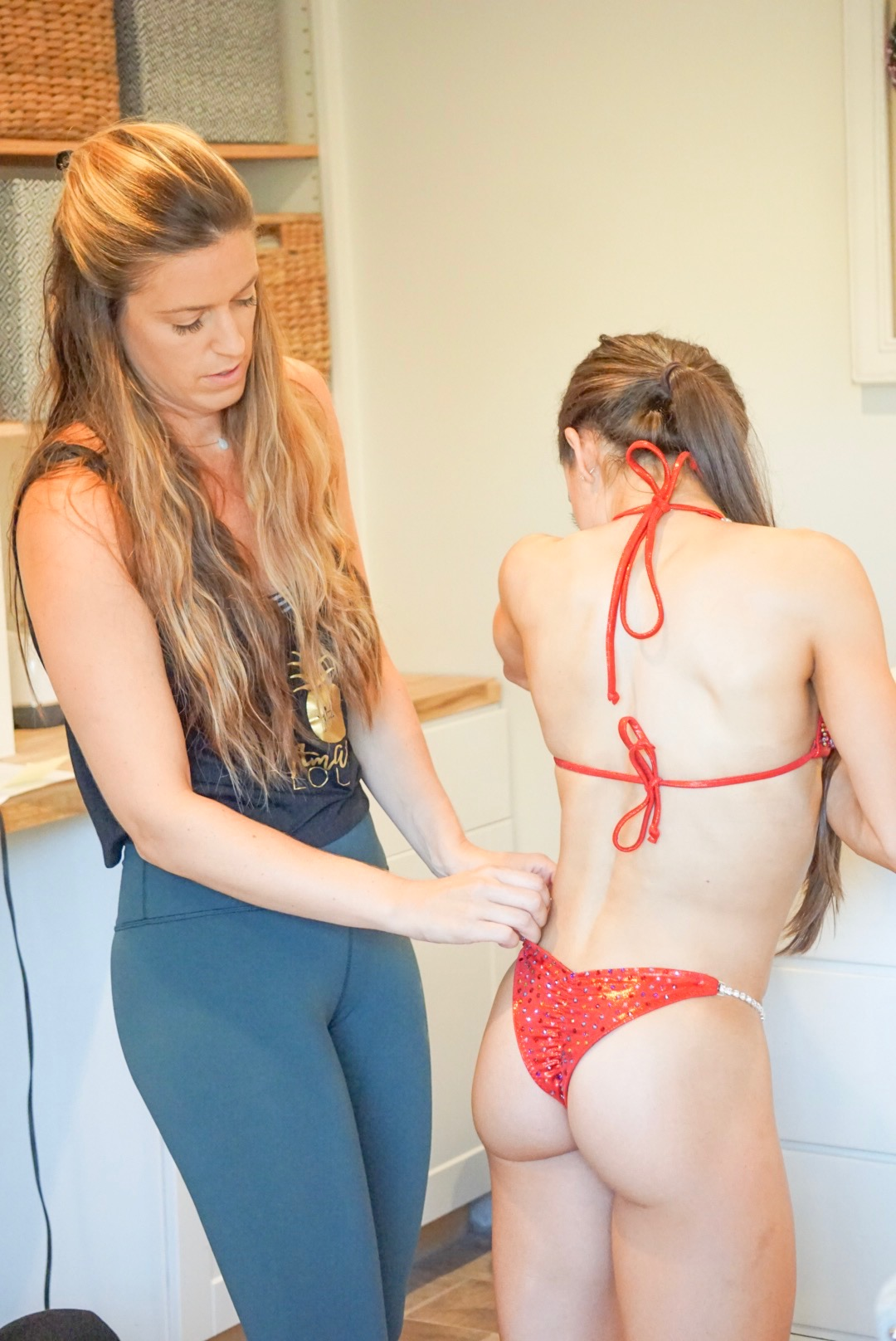 """Pro Level Suit Security - """"It's life changing! I even used it to create some boobage. 100% never going back to the old ways of glue.' - Shayla, Glute Tape Client"""