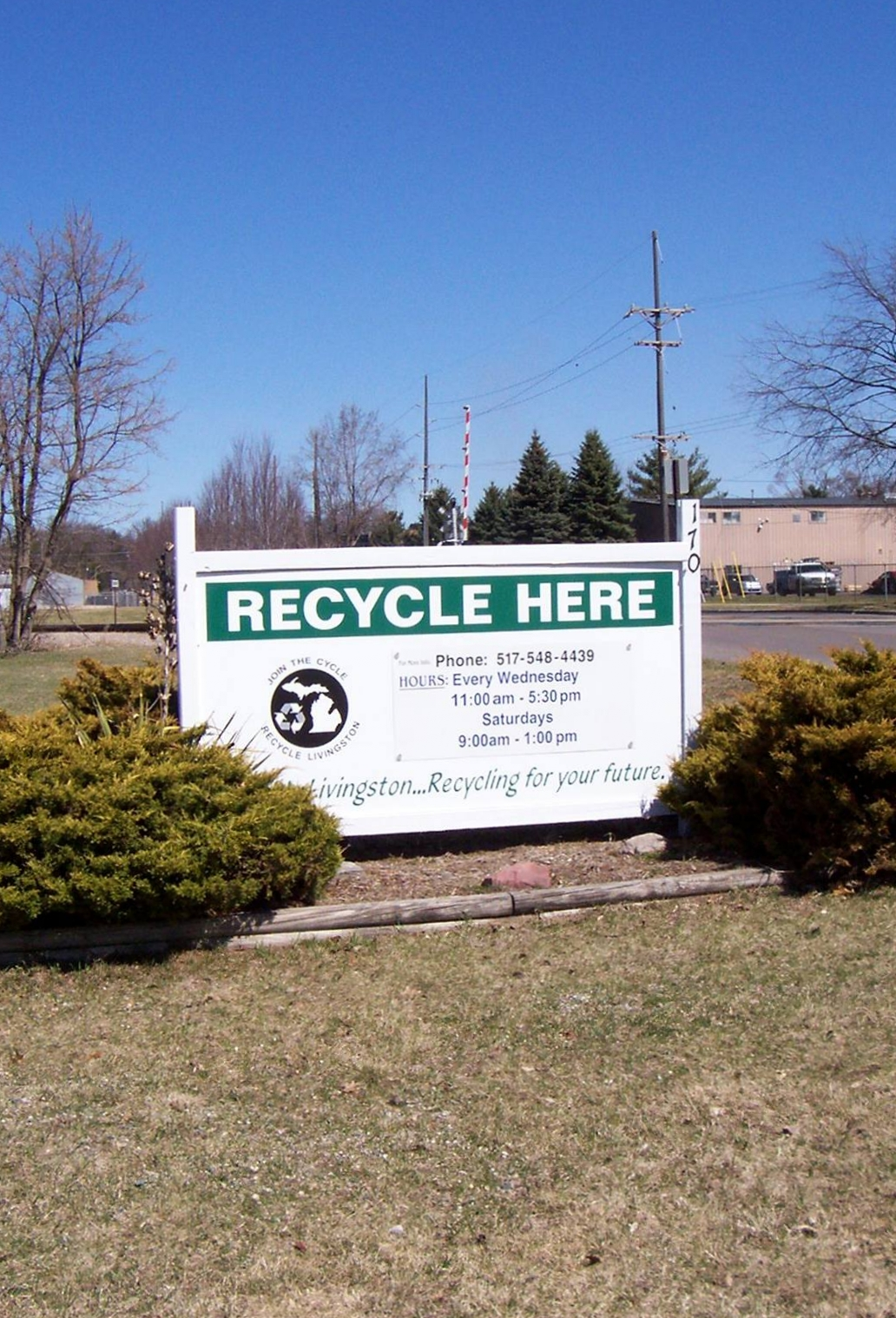 Recycle Livingston    The Kellogg Family Foundation has partnered with Recycle Livingston in support of their mission to promote recycling and waste reduction in Livingston County.