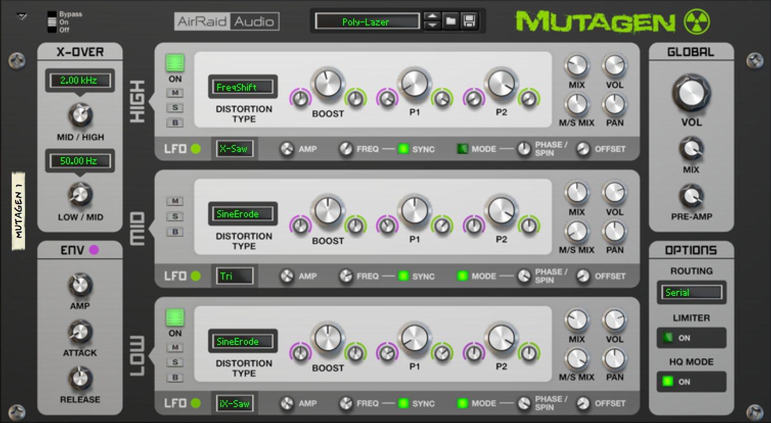 Mutagen  Multiband Distortion