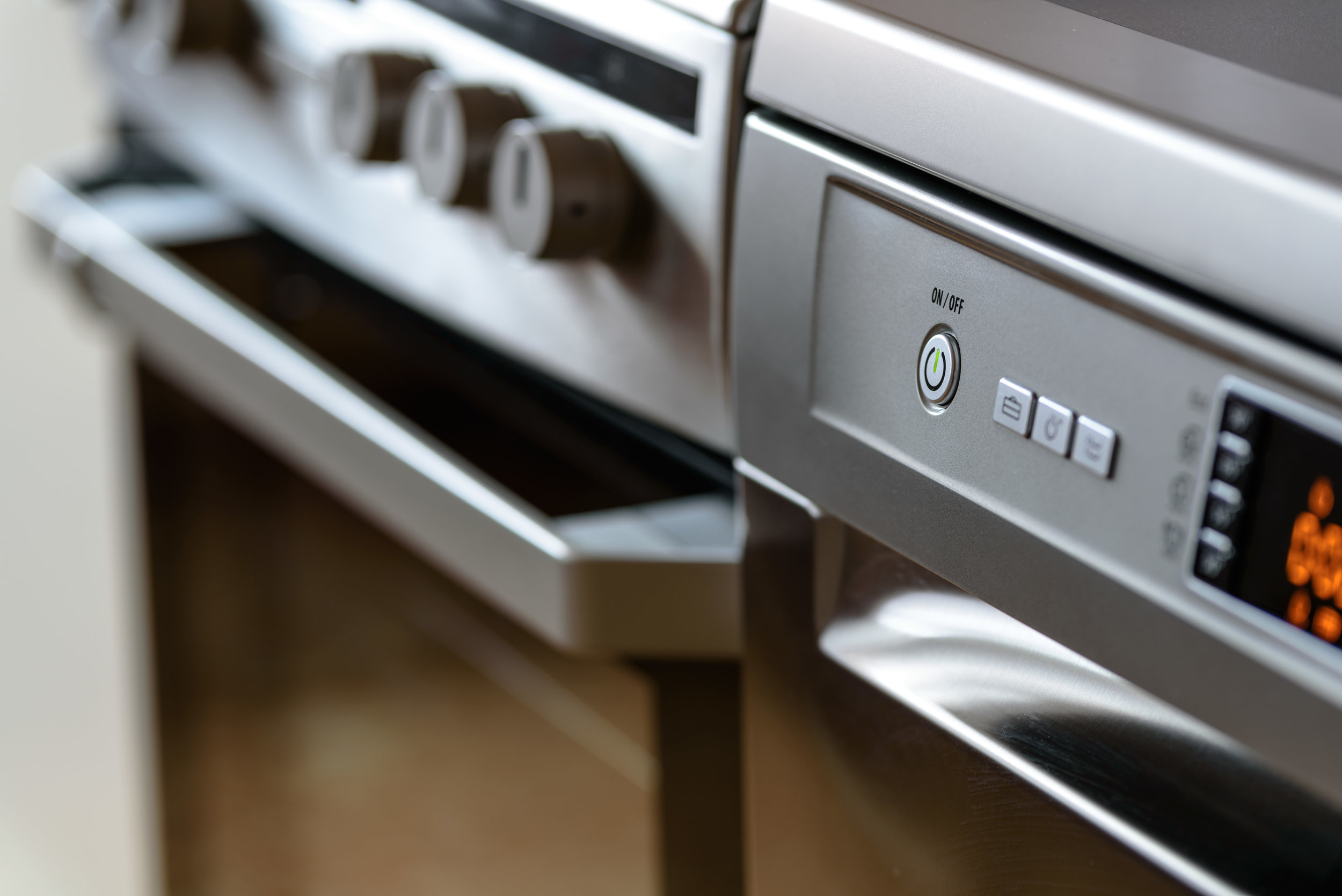Keep everything in top working order - Ensuring all your appliances are in top working order, and tending to them when they need minor repairs, will save you stress and money in the long run.