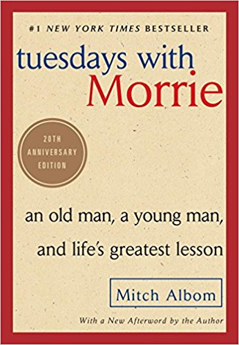 "Mitch Albom ""Tuesdays with Morrie"""