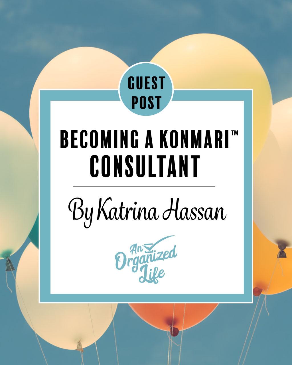 Becoming a KonMari Consultant