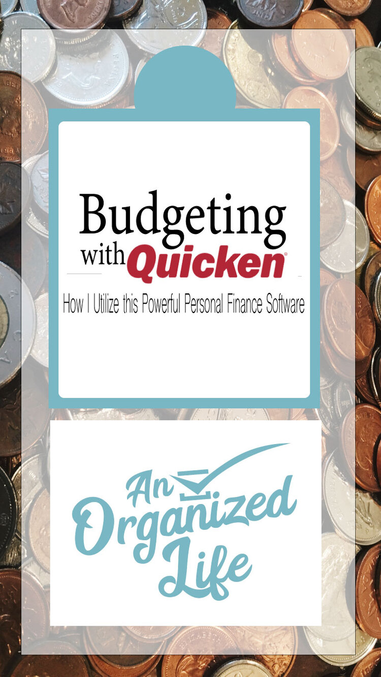 Budgeting with Quicken