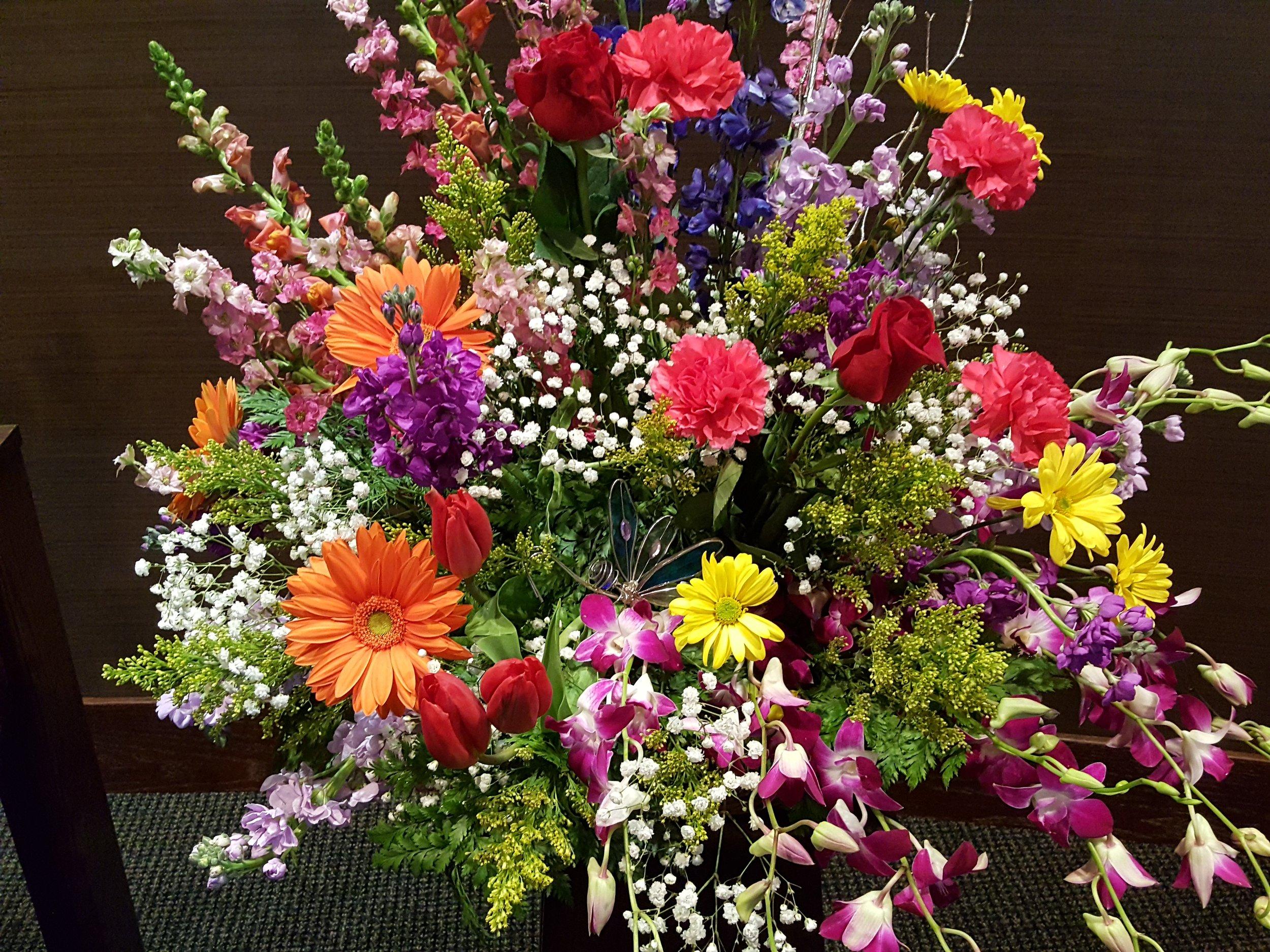 Custom designed bouquets