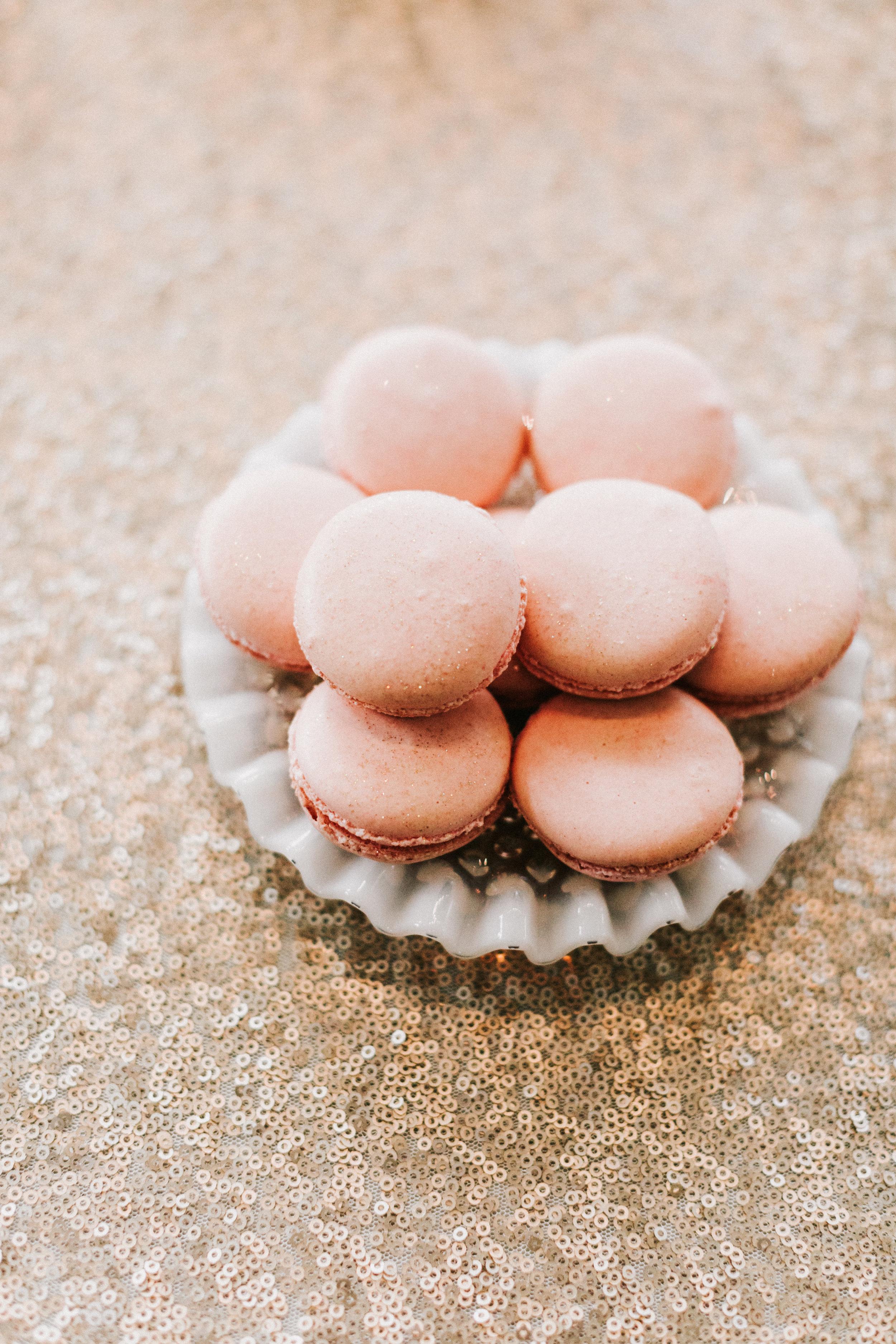 macaron plate