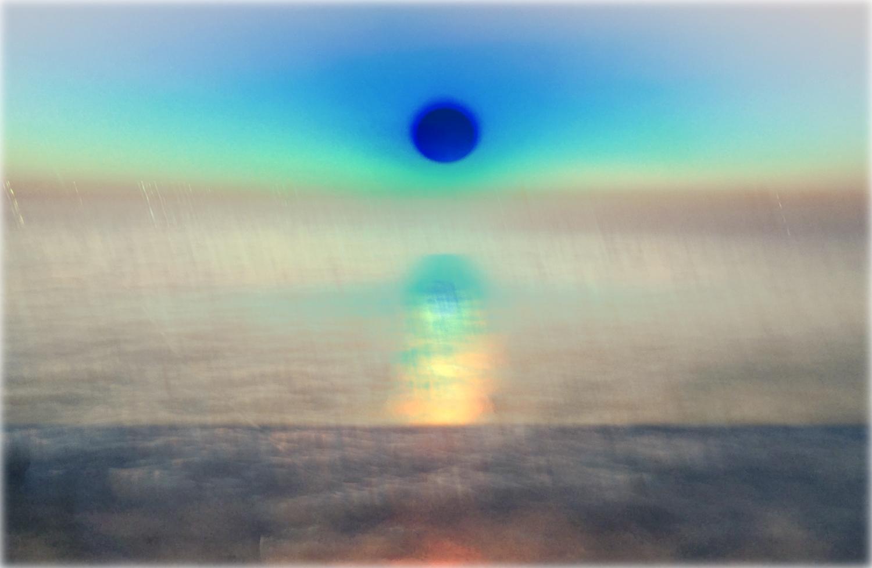 CHRISTINE DAVIS  Double Blind Stack B-9 (03.03.2017)  2017 unique archival inkjet print 13 x 19 inches