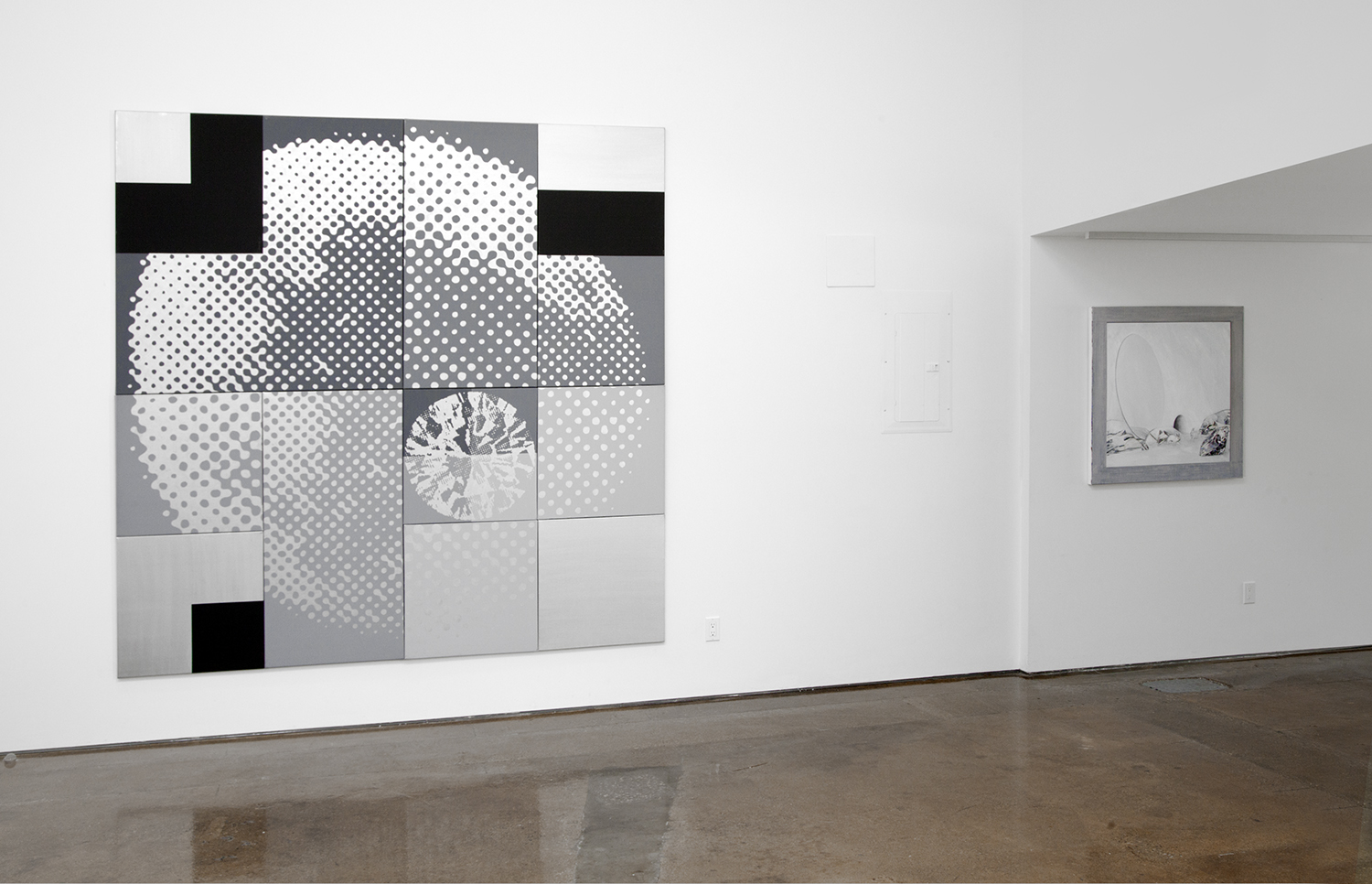 DAVID CLARKSON   Likeness Twice Over  (1985) and  Rabbits and Mirror  (2016)