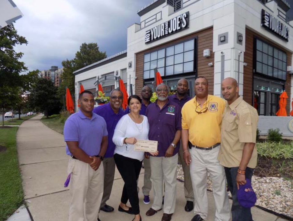 OKK Foundation Receives Donation from Not Your Average Joe's of Reston. The Foundation received $650. We were the July 2016 charity of the month.