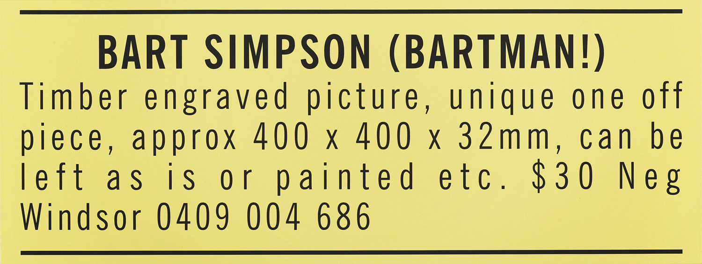 Bart Simpson (Bartman) 2011