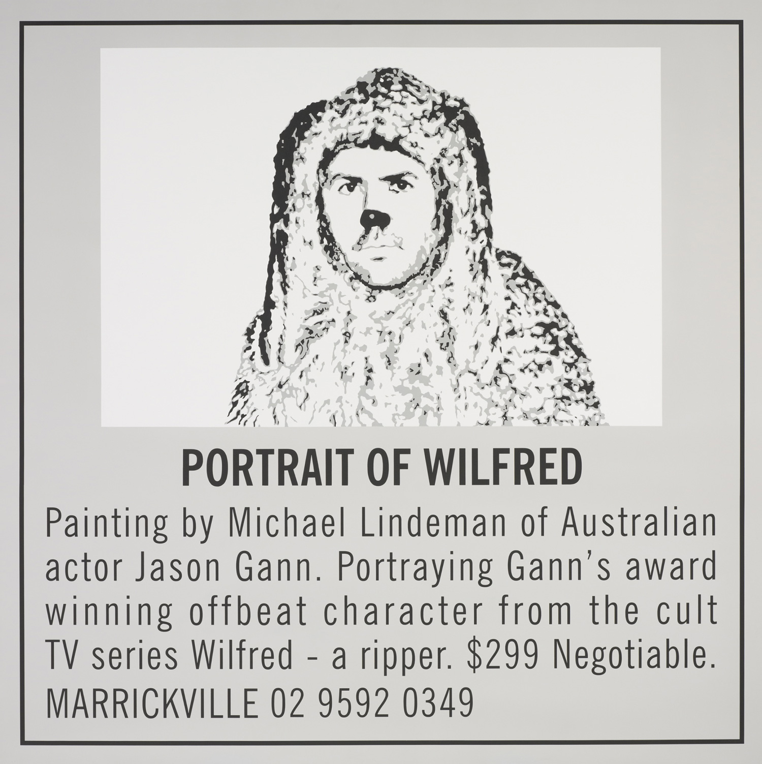 Portrait of Wilfred 2011