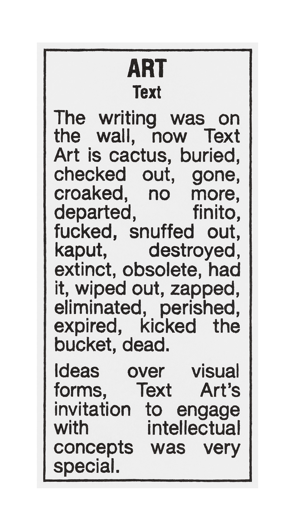 ART, Text 2018