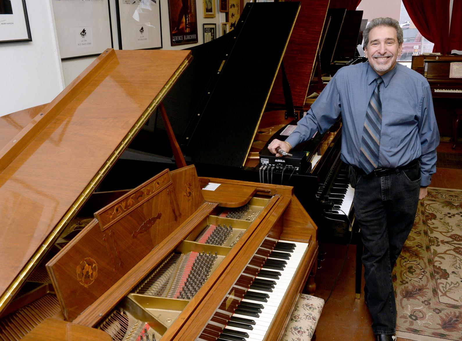 Evan Tublitz of Used Piano Center