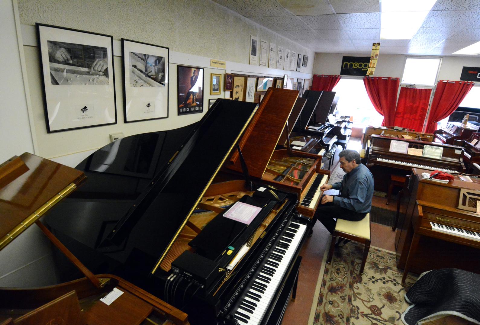 Used Piano Center Showroom
