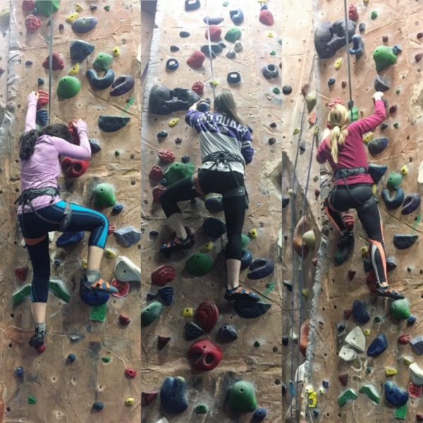 We tried out indoor rock climbing on the rainiest day - so fun!