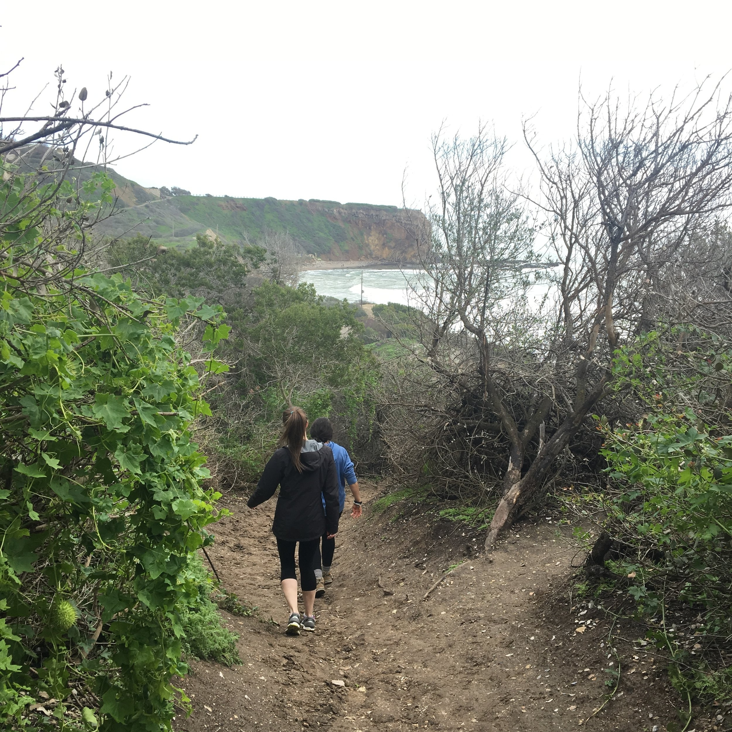 Despite the uncooperative weather and trail closures, we still got to take in some incredible California sights!
