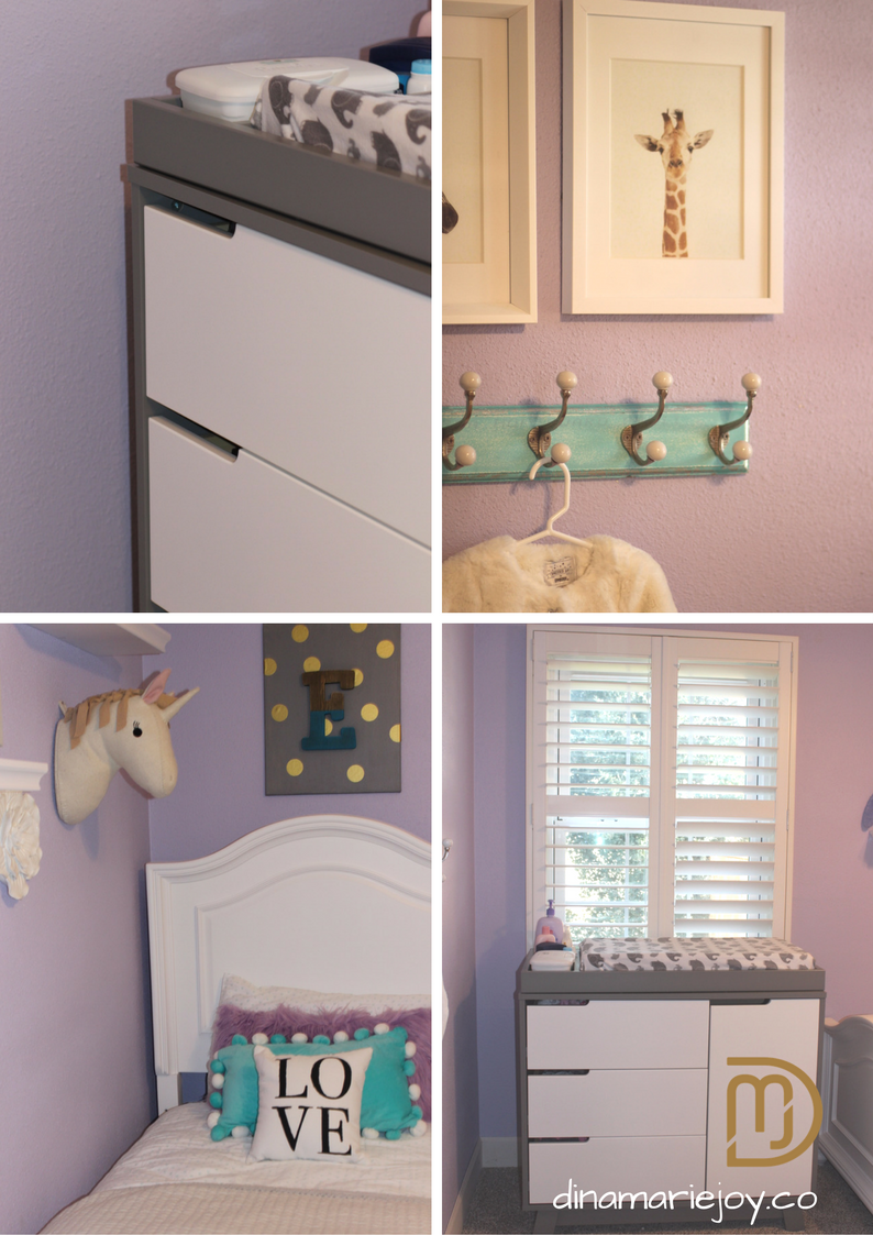 Nursery Room designed by Dina Marie Joy.
