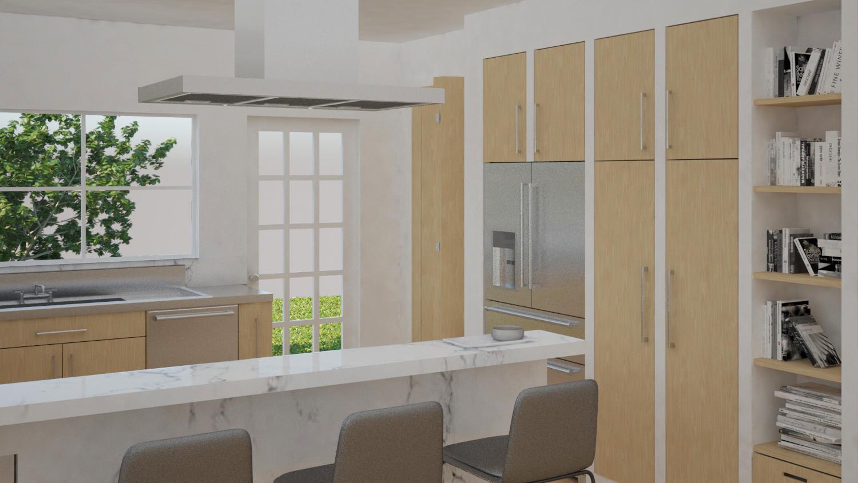 Kitchen Remodel in San Jose California by Dina Marie Joy at www.dinamariejoydesigns.com