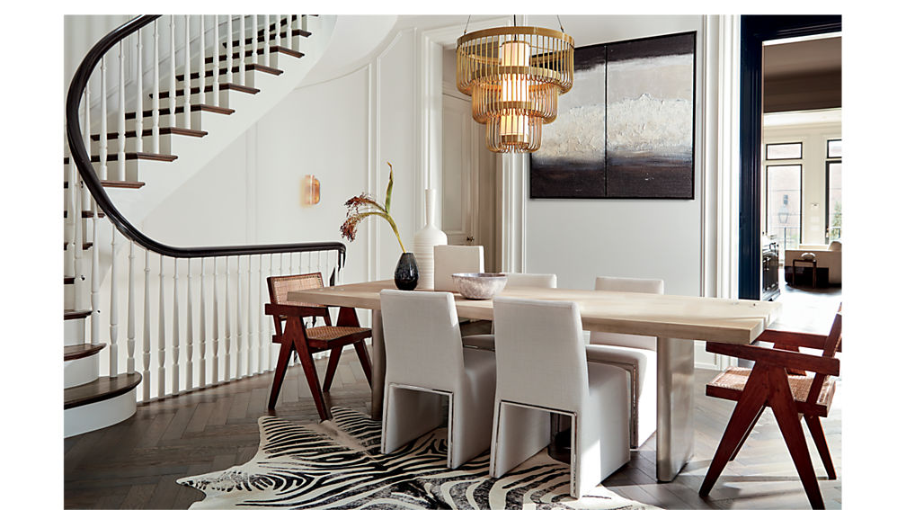 Modern Dining Room Chairs from CB2. www.dinamariejoy.co