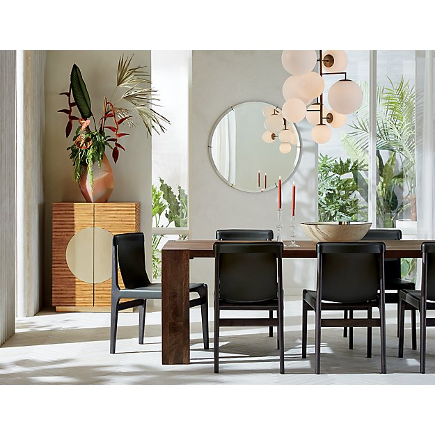 Modern Dining Room Lighting by CB2. www.dinamariejoy.co