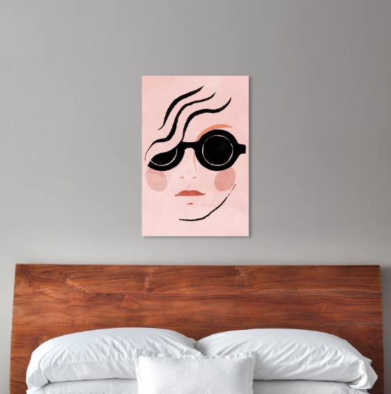 Wayfair Wednesday. Art piece for little girls room. www.dinamariejoy.co