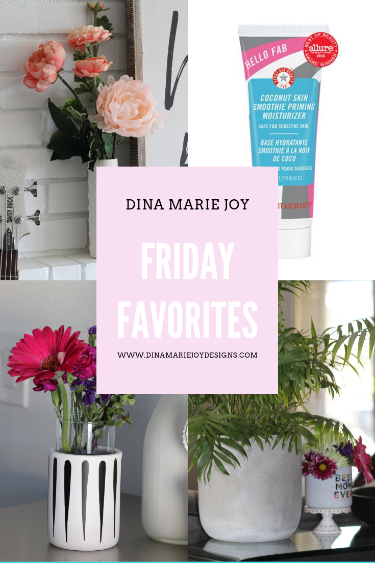 Friday Favorites for Dina Marie Joy. Dina Marie Joy is a Vacation Home Expert. www.dinamariejoy.co