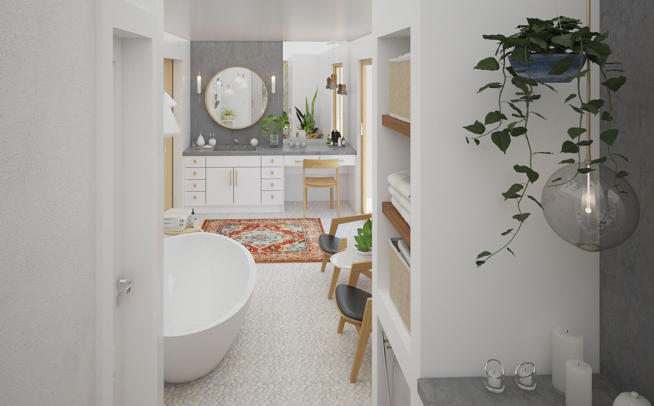 Master Bath Remodel, Monterey California