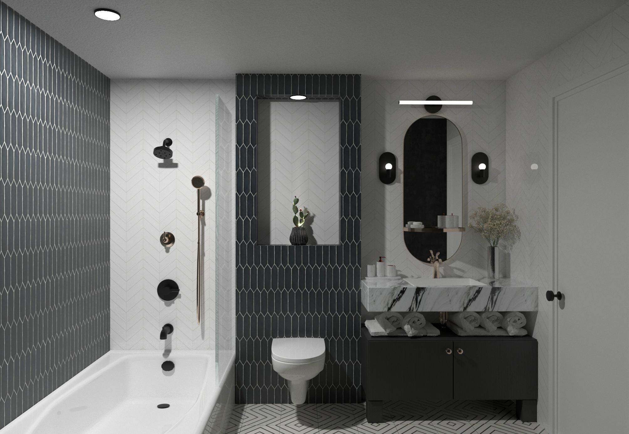 Guest Bath Remodel, Clovis California