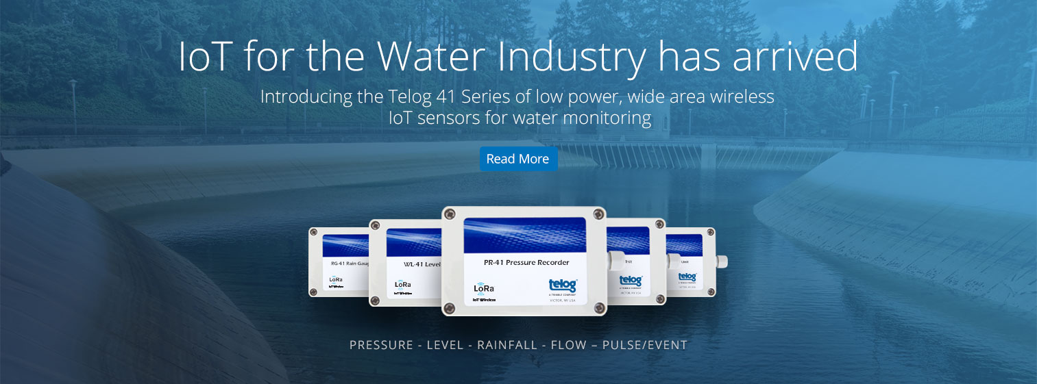 IoT for the Water Industry has arrived