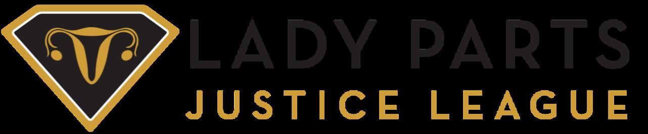 Lady Parts Justice League logo.png