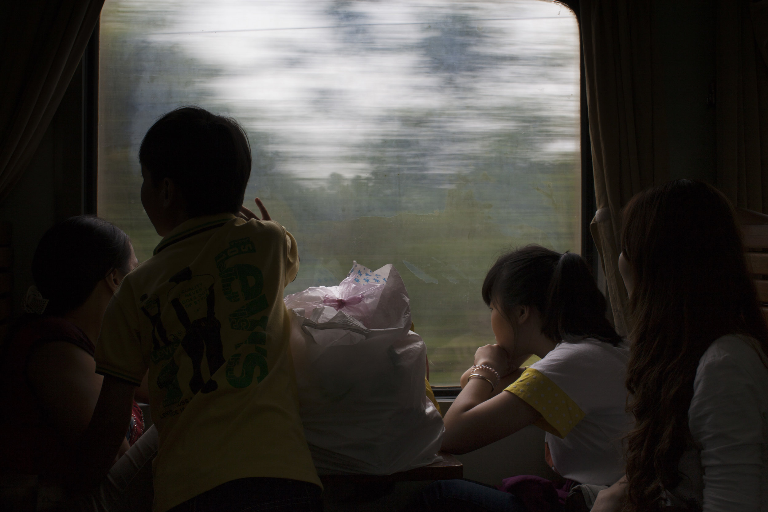 Train to Hanoi
