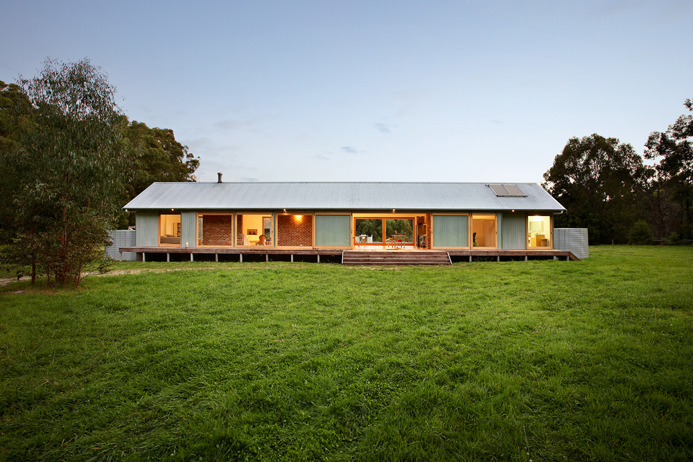 Energy efficient holiday home design in Tonimuk, Australia