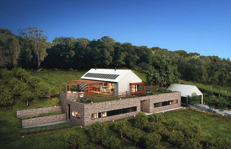 passive house, passivhaus, agritourism, self-sufficient