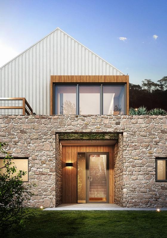 Passive House, passivhaus, self-sufficient, farm zone