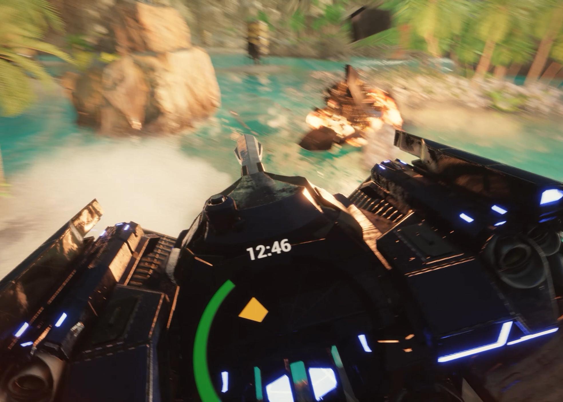 DESPOILER - Role: Gameplay Programmer, Game DesignerEngine: Unreal Engine 4, C++Description: Team Objective Arena Racer. PC Game Shipped on Steam 2018
