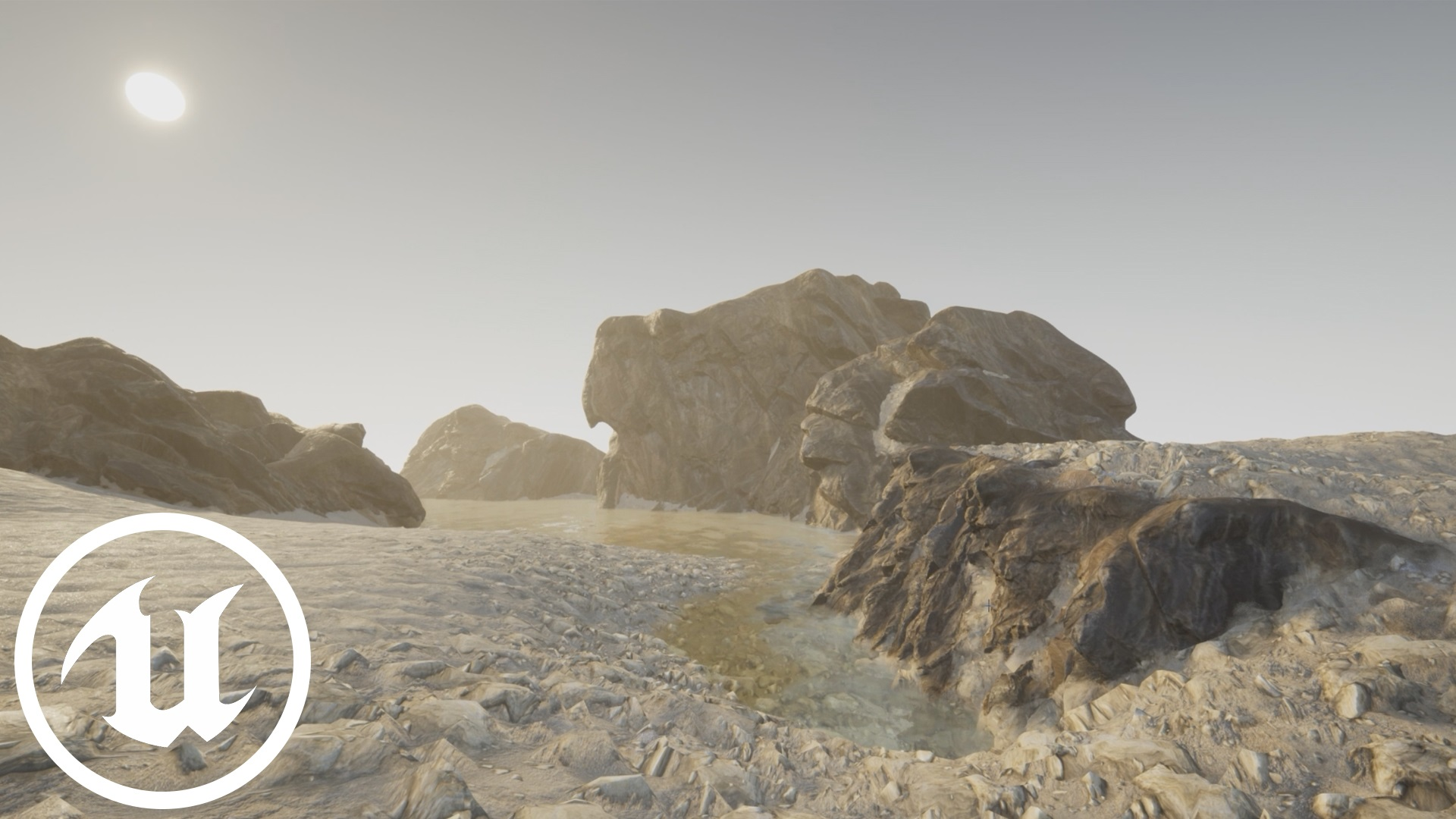 Terrain Blending Meshes with UE4 - Distance Field blending: How, why, and why not?