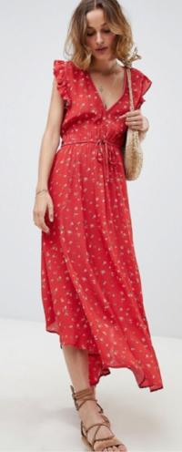 ASOS Rahi Cali Prairie Rose Bella Dress with Open Back $229 - ASOS Rahi Cali Prairie Rose Bella Dress with Open Back $229