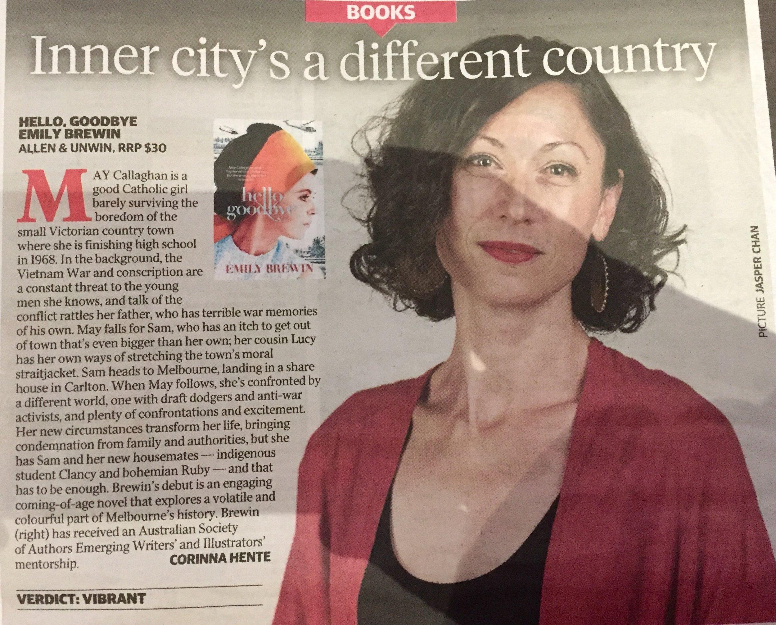 The Herald Sun: 8th July 2017
