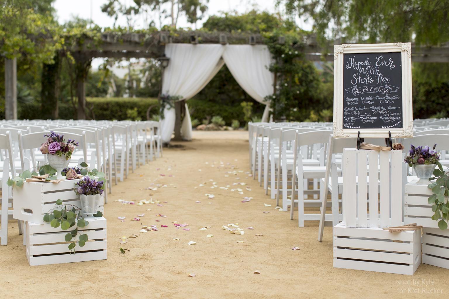 Wedding Ceremony at Santa Barbara Historical Museum