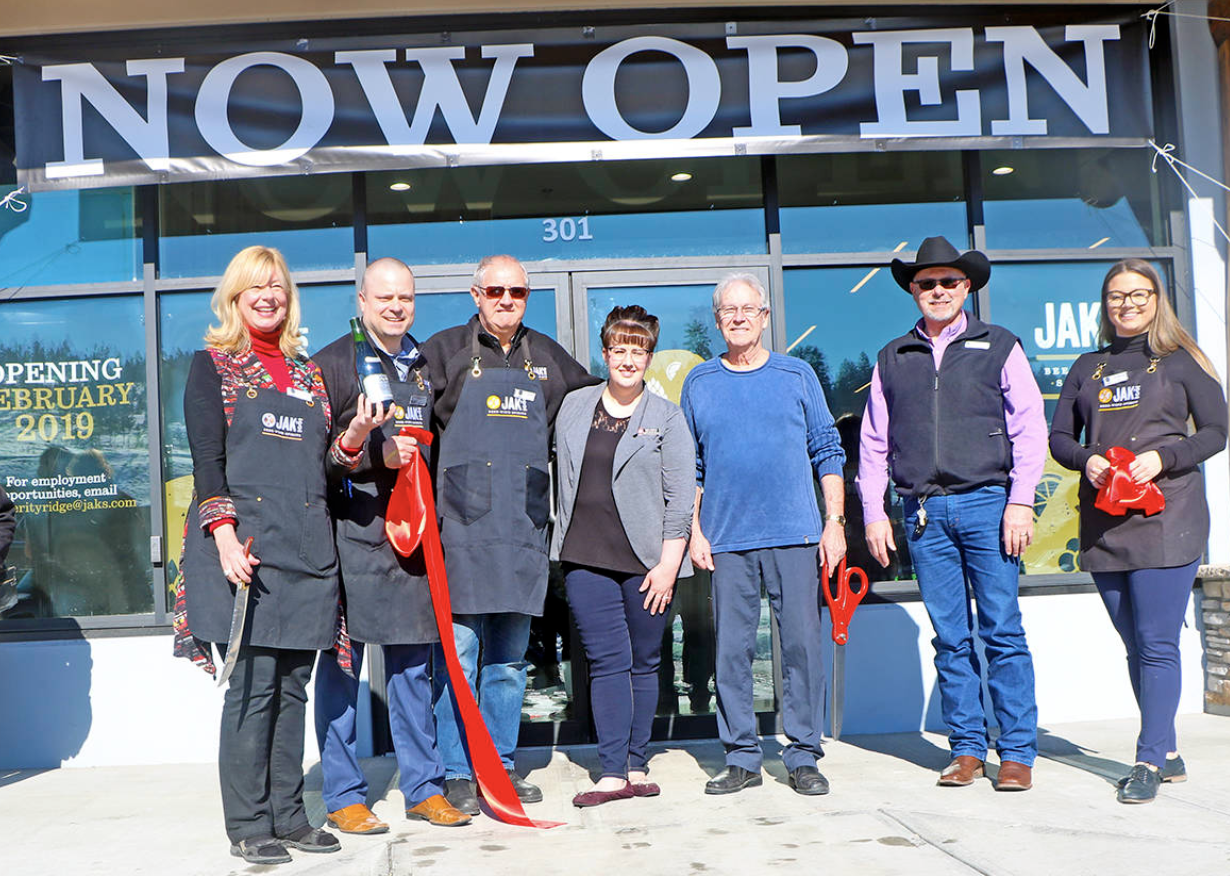 JAK'S makes a splash in the lakecity community - March. 9, 2019 By Patrick Davies | The Williams Lake Tribune