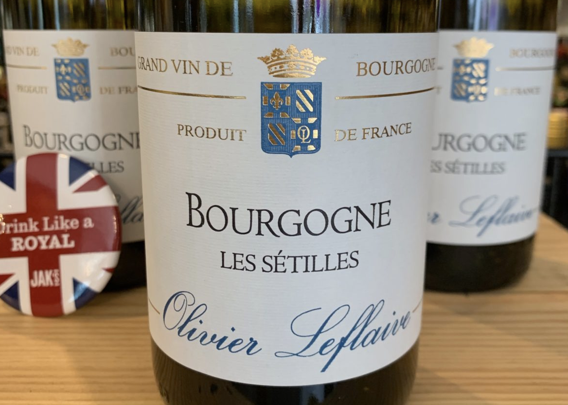 Toast everything Royal with a glass of 2016 Olivier Leflaive Bourgogne Les Sétilles - May. 22 2019 | MyVancity.ca