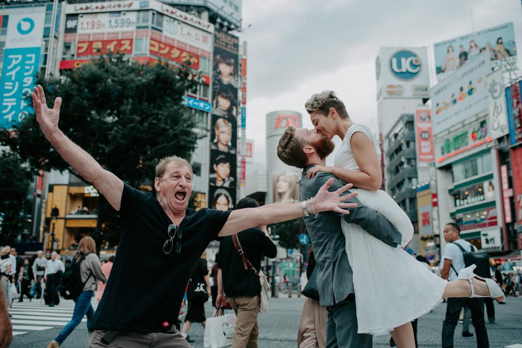 japan tokyo elopement wedding prewedding